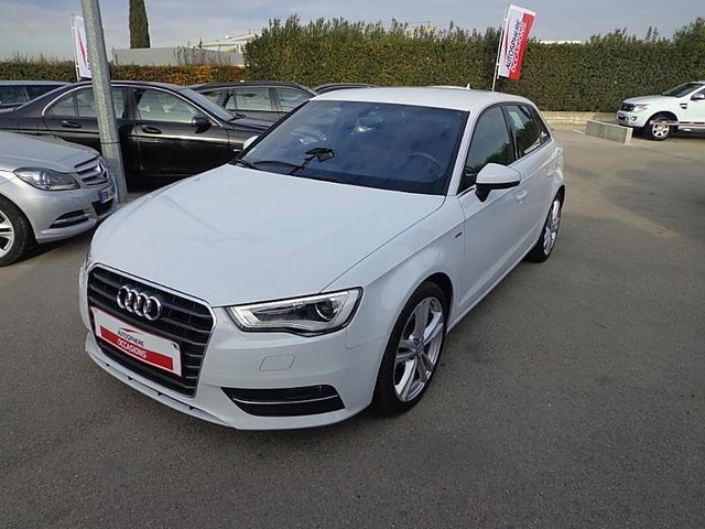 audi a3 sportback 2 0 tdi 150ch fap s line s tronic 6 occasion aix en provence 27 900. Black Bedroom Furniture Sets. Home Design Ideas