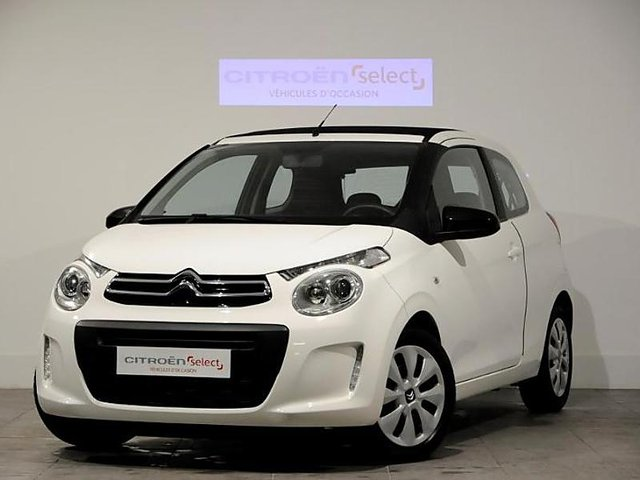 citroen c1 airscape puretech 82 feel 3p occasion niort 8 990. Black Bedroom Furniture Sets. Home Design Ideas