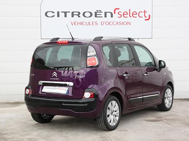 citroen c3 picasso bluehdi 100 feel edition occasion. Black Bedroom Furniture Sets. Home Design Ideas