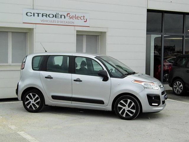 citroen c3 picasso bluehdi 100 confort occasion civray 14 490. Black Bedroom Furniture Sets. Home Design Ideas