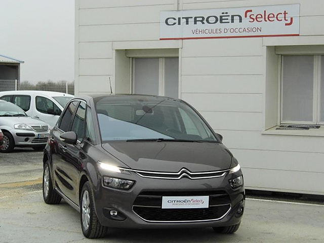 citroen c4 picasso bluehdi 120ch intensive s s eat6 occasion civray 21 890. Black Bedroom Furniture Sets. Home Design Ideas