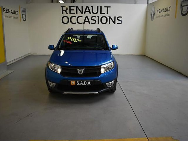 dacia sandero 1 5 dci 90 stepway ambiance eco occasion. Black Bedroom Furniture Sets. Home Design Ideas