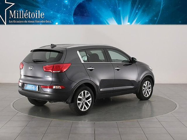 kia sportage 1 7 crdi 115ch isg active 4x2 occasion. Black Bedroom Furniture Sets. Home Design Ideas