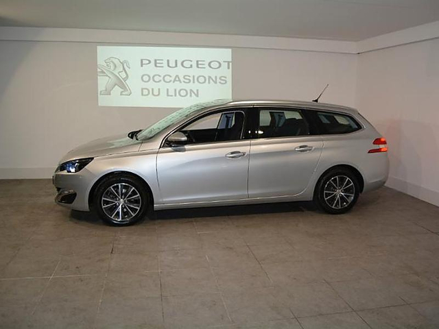peugeot 308 sw 1 6 bluehdi 120ch allure s s eat6 occasion poitiers 22 890. Black Bedroom Furniture Sets. Home Design Ideas