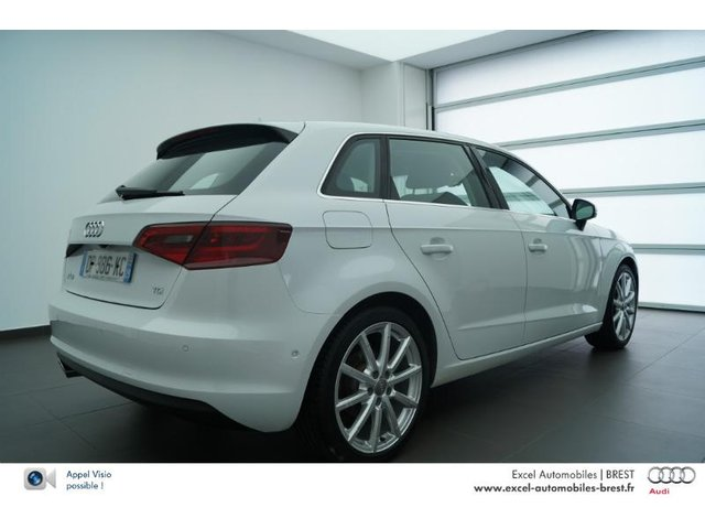 audi a3 sportback d occasion brest annee 2015 2 0 tdi. Black Bedroom Furniture Sets. Home Design Ideas