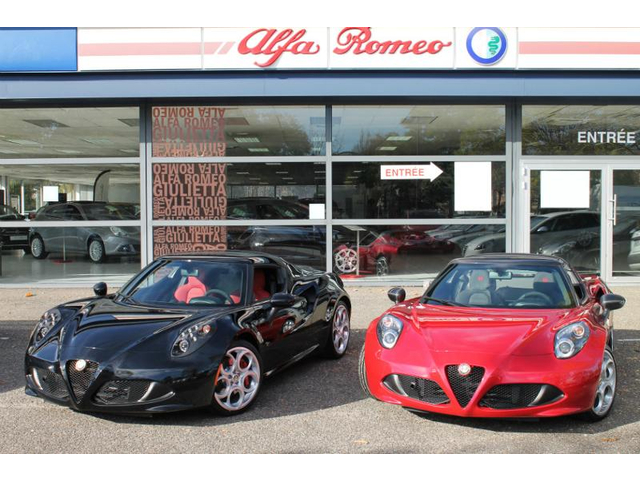 alfa romeo 4c spider occasion 1750 tbi pack racing mulhouse hes2 vn4cspider. Black Bedroom Furniture Sets. Home Design Ideas