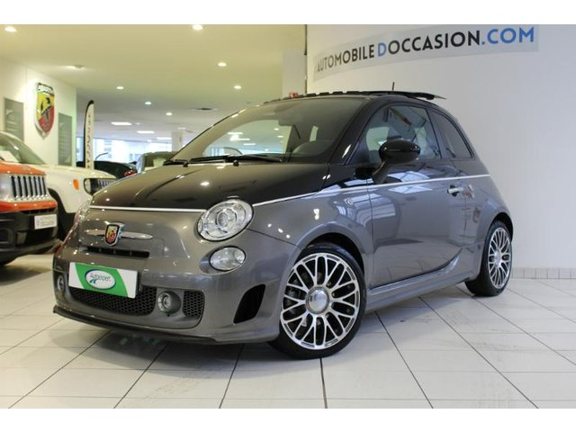 abarth 500 occasion 1 4 turbo t jet 160ch 595 turismo saint etienne hes8 802958. Black Bedroom Furniture Sets. Home Design Ideas