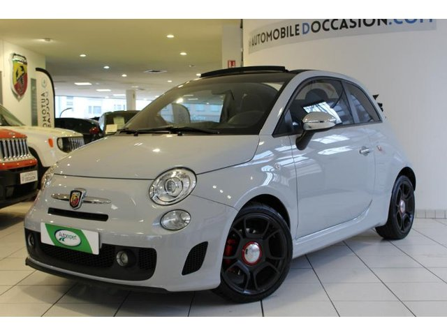voiture abarth 500c occasion 1 4 16v turbo t jet hes8. Black Bedroom Furniture Sets. Home Design Ideas