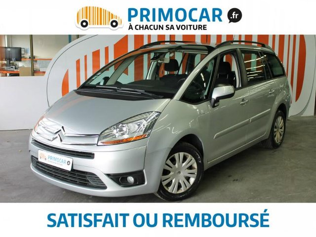 citroen grand c4 picasso 1 6 hdi110 fap pack ambiance 7pl occasion pas cher strasbourg forbach. Black Bedroom Furniture Sets. Home Design Ideas