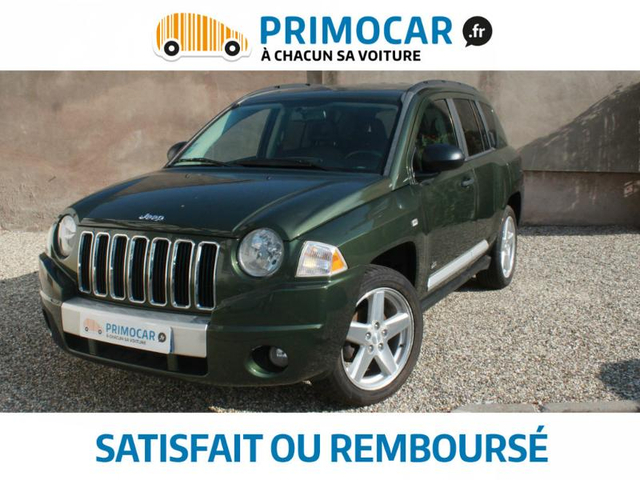 jeep compass 2 0 crd limited gps cuir to occasion. Black Bedroom Furniture Sets. Home Design Ideas