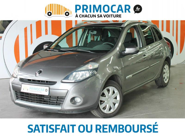 renault clio estate 1 5 dci 85ch dynamique occasion. Black Bedroom Furniture Sets. Home Design Ideas