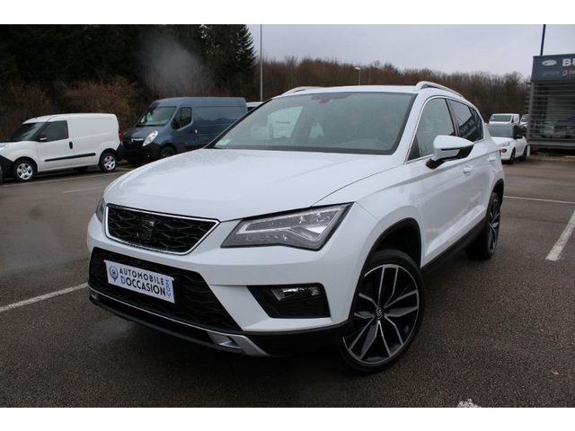 seat ateca occasion 2 0 tdi 190ch xcellence 4drive dsg reims he18 87397. Black Bedroom Furniture Sets. Home Design Ideas