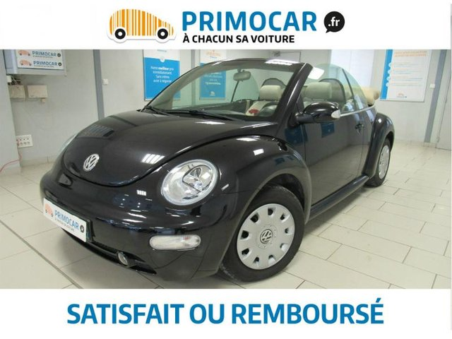 volkswagen beetle cab 1 9 tdi 105ch new beetle occasion. Black Bedroom Furniture Sets. Home Design Ideas